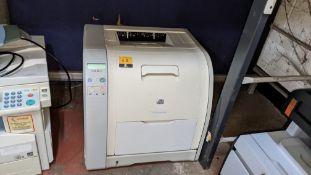 HP Color LaserJet 3550 printer