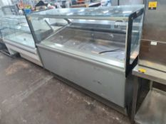 Millenium ST.18 refrigerated serve over counter, measuring approx. 1680mm x 1060mm x 1310mm