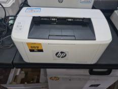 HP LaserJet Pro M15W including box