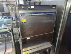 DC Series stainless steel glasswasher/dishwasher NB. This lot does not include the stand on which it