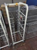Gastro trolley measuring circa 412mm x 518mm
