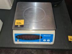 Brecknell model 405 digital platform scales, 15kg capacity x0.002kg NB. Appears to be battery operat