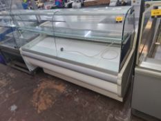 Igloo Monika 2-1.7 refrigerated serve over counter measuring approx. 1700mm x 750mm x 1230mm