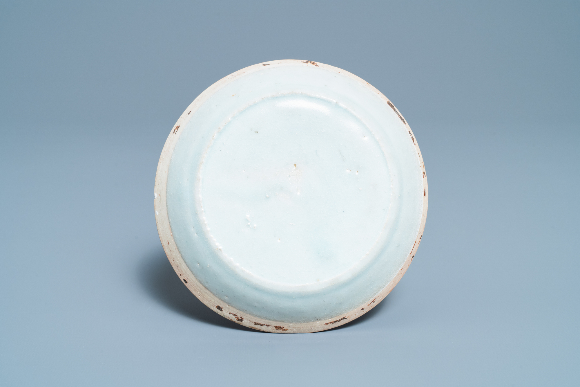 A Chinese qingbai molded 'fish' dish and a bowl with cover, Song/Yuan - Image 3 of 11