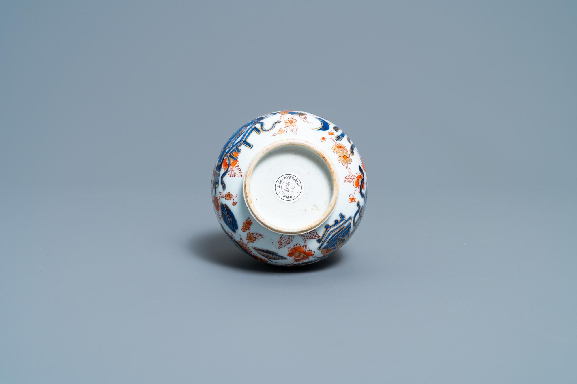 A Chinese Imari-style bottle vase, Kangxi - Image 6 of 6