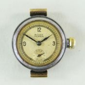 LADIES ROLEX OYSTER PRIMA WRISTWATCH, ref. 2701, c.1935, 15 jewel lever movement, blued steel hands,