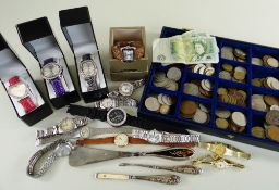 ASSORTED WRISTWATCHES to include nine ladies and gent's everyday examples including Seiko, Rotary,