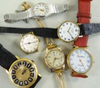 GROUP OF VARIOUS WRISTWATCHES, including Avia, Paragon, Freba, Citizen, Pierre Rotary and