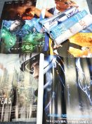 FILM ADVERTISING POSTERS, a large quantity, including 'Green Lantern', 'Godzilla' and 'Alien vs