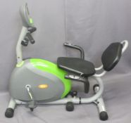 RECUMBENT MAGNETIC CYCLE by 'U' Fit Exercise Machine, 101cms H, 110cms W, 67cms D