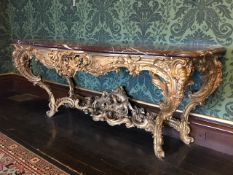 BODELWYDDAN CASTLE, BODELWYDDAN - The remaining antique furniture contents of this well known,