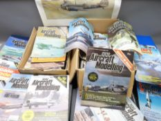 SCALE AIRCRAFT MODELLING - many many issues, some in binders, also Airfix editions, Scale Model