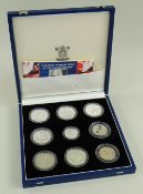 ROYAL MINT SECOND WORLD WAR 50TH ANNIVERSARY INTERNATIONAL COIN COLLECTION, cased with Certificate