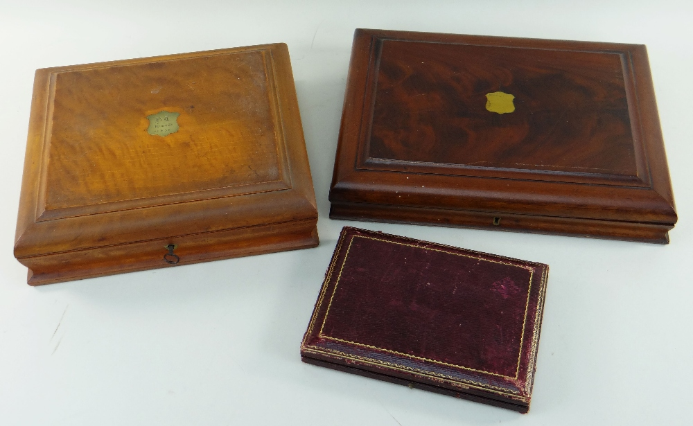 EARLY 20TH CENTURY BOXED TABLE WARES & COMMEMORATIVE COINS, comprising George V silver coffee - Image 2 of 2