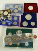 ASSORTED UNITED STATES & CANADIAN COIN SETS comprising two similar US bicentennial 1776-1976