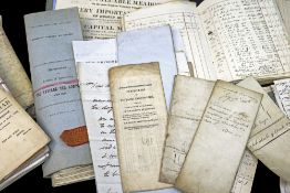 AN ARCHIVE OF WELSH DEEDS & DOCUMENTS RELATING TO CLYDACH GORGE IRON WORKS of Llanelly,
