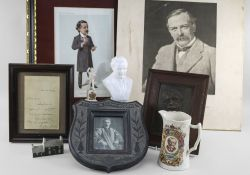 VARIOUS ITEMS RELATING TO FORMER PRIME MINISTER DAVID LLOYD GEORGE (1863-1945) including (1) a