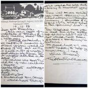 SIR KYFFIN WILLIAMS RA an A4 handwritten letter on artist's headed paper with Pwllfanogl address -