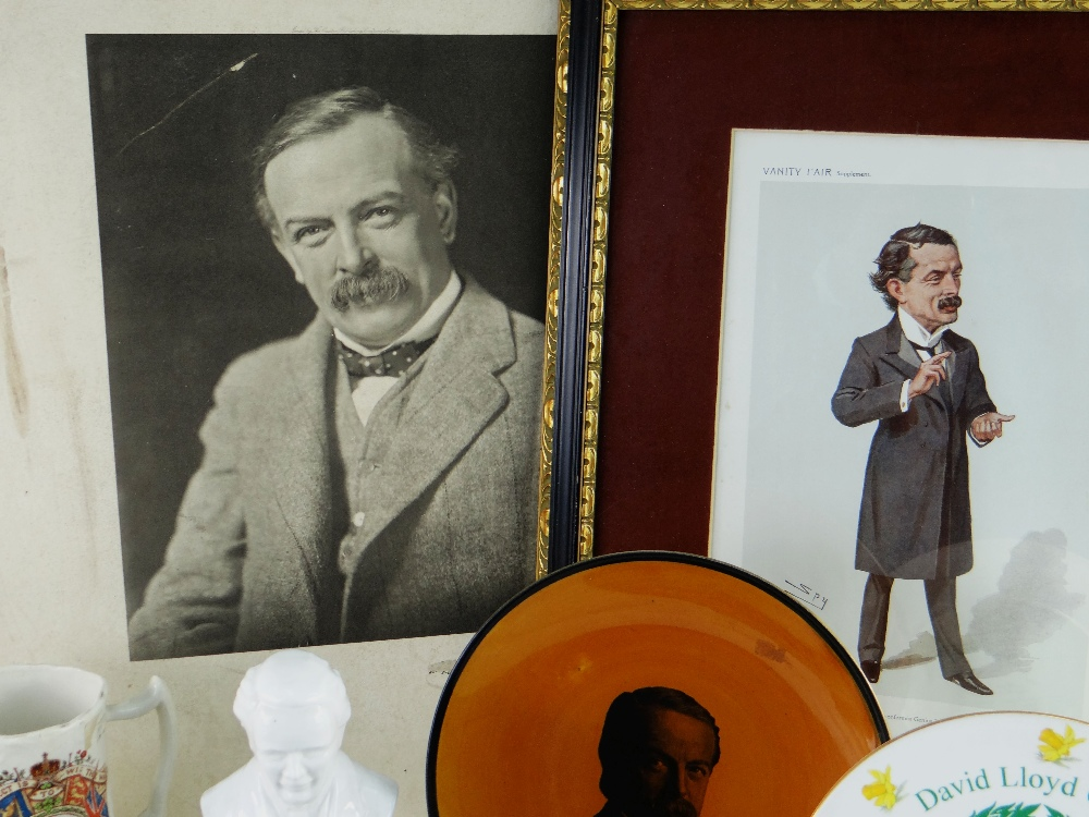 VARIOUS ITEMS RELATING TO FORMER PRIME MINISTER DAVID LLOYD GEORGE (1863-1945) including (1) a - Image 5 of 5