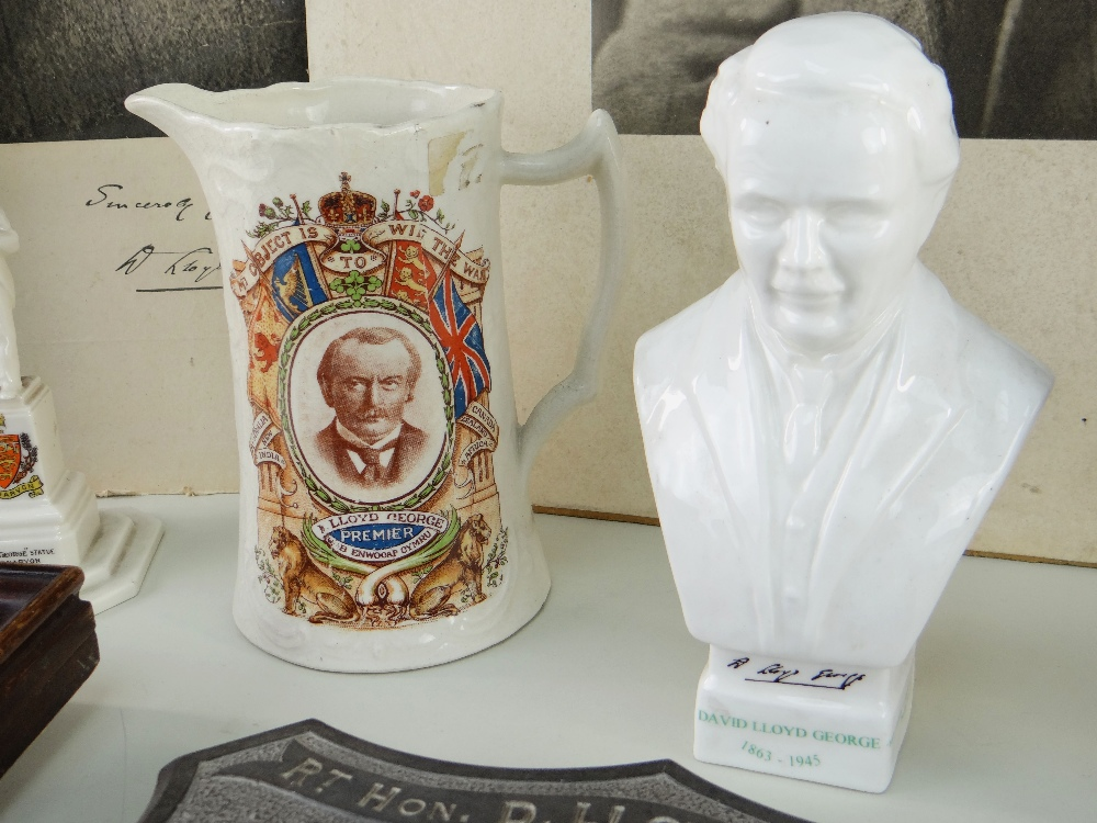 VARIOUS ITEMS RELATING TO FORMER PRIME MINISTER DAVID LLOYD GEORGE (1863-1945) including (1) a - Image 4 of 5