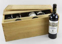 TWELVE BOTTLES OF CHATEAU LEOVILLE BARTON 2001 ST JULIEN, ASJC, 750ml, 12.5% vol, in original wooden