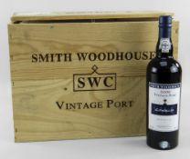 TWELVE BOTTLES OF SMITH WOODHOUSE 2000 VINTAGE PORT, produced and bottled by Smith Woodhouse and CA,