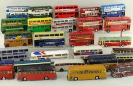 ASSORTED CORGI DIECAST BUSES, including 14x Routemasters, 2x Metrobuses, 3x Motorway Express
