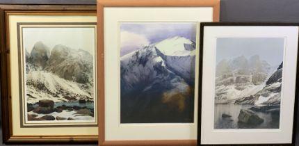 ROB PIERCY prints - Coire Mhic Fhearchair 262/500, 56 x 40cms, Foel Goch/Elidir Fawr 34/200, 61 x