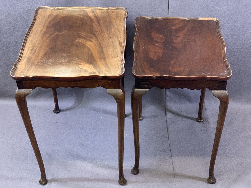 VINTAGE & REPRODUCTION OCCASIONAL FURNITURE BUNDLE to include a glass top Long-John coffee table and - Image 4 of 4