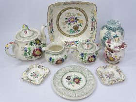 MASONS CHINESE PEONY, BROCADE, PAYNSLEY and an assortment of other Masons items