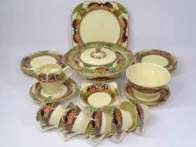MYOTT SON & CO, ENGLAND'S COUNTRYSIDE TEA & DINNERWARE, approximately 25 pieces