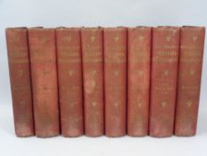 BOOKS - The Works of William Shakespeare, 8 from a 10 volume set, published by Swan Sonnenschein &