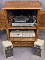 HITACHI STEREO SYSTEM SEPARATES - FT-J2 Tuner. HA-J2 Amplifier. HS-J2 Two Way Speakers. Also,