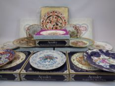 COLLECTOR'S WALL PLATES, MAINLY BOXED QUANTITY - includes Royal Doulton Valentine's Day, Aynsley