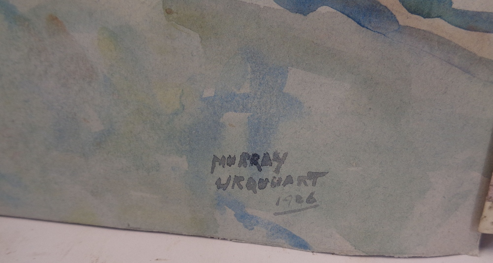 MURRAY MCNEEL CAIRD URQUHART (1880 - 1972) two unframed watercolours - Gwynedd mountains and - Image 2 of 5