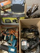 ELECTRIC & OTHER HAND TOOLS, MOTORISED PAINT SPRAYER - a mixed quantity (within 3 boxes)