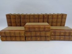 BOOKS - The Works of Charles Dickens, 20 volumes, gilt tooled leather spines, The Gresham Publishing