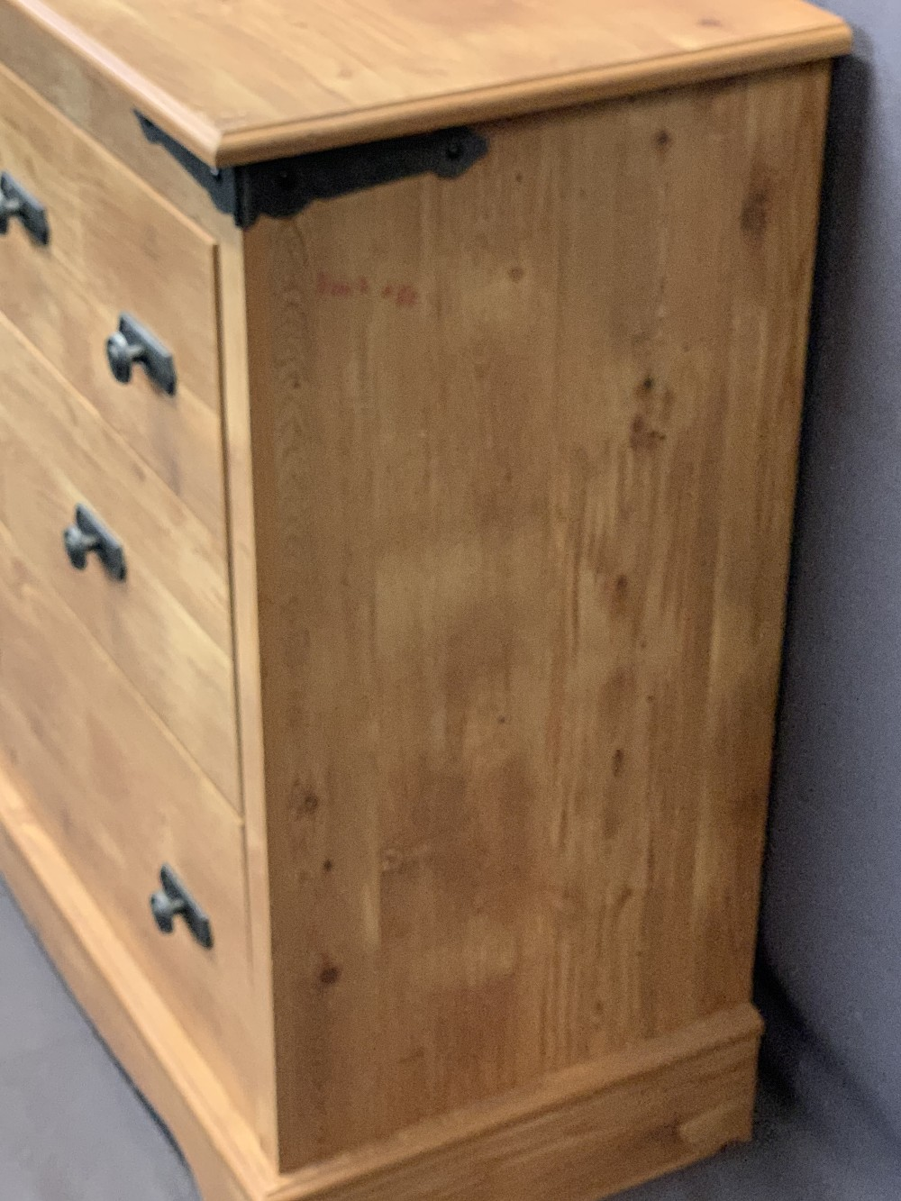 ULTRA MODERN LIGHT WOOD MULTI-DRAWER CHEST - six small, three central medium, two long on a plinth - Image 2 of 3