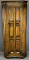 PRIORY STYLE SINGLE DOOR HALL ROBE - 177cms H, 88cms W, 40cms D