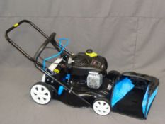 BRIGGS & STRATTON 450 E SERIES, 125cc PETROL LAWN MOWER (appears little, if ever used)