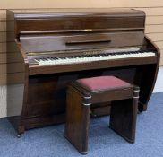 PIANO by Challen of Omega Works, London, 107cms H, 135cms W, 54cms D