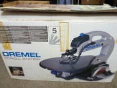 BOXED DREMEL BENCH TOP SCROLL SAW - in apparently unused condition, original box, E/T