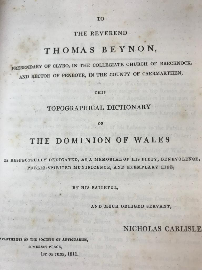 FINE ONE-OWNER COLLECTION OF MAINLY WALES/WELSH RELATED ANTIQUARIAN & HISTORICAL BOOKS - Image 3 of 13