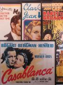 REPRODUCTION FRAMED CINEMA POSTERS (4) - Babes on Broadway - Mickey Rooney and Judy Garland, 87 x