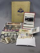 VINTAGE & LATER ROYAL MAIL MINT STAMPS, POSTCARDS & OTHER EPHEMERA - an 'In the Field Christmas