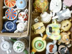 NOVELTY & OTHER TEAPOT COLLECTION - approximately 20