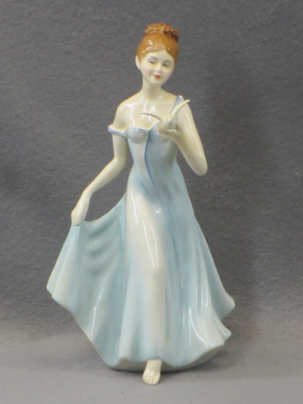 PORCELAIN & COMPOSITION CABINET FIGURINES, A COLLECTION including a Sitzendorf group of young man - Image 5 of 7