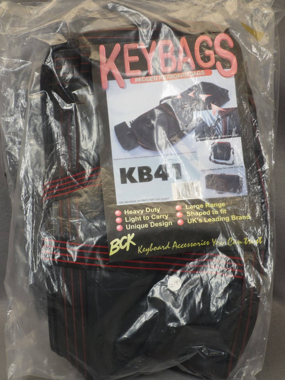 MUSIC SHOP STOCK - boxed and loose keyboard stands (2), canvas keyboard bag and three Stagg banjo - Image 5 of 5
