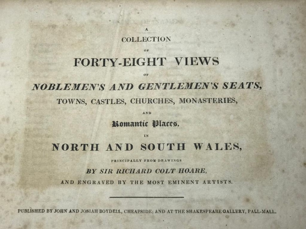 FINE ONE-OWNER COLLECTION OF MAINLY WALES/WELSH RELATED ANTIQUARIAN & HISTORICAL BOOKS - Image 11 of 13