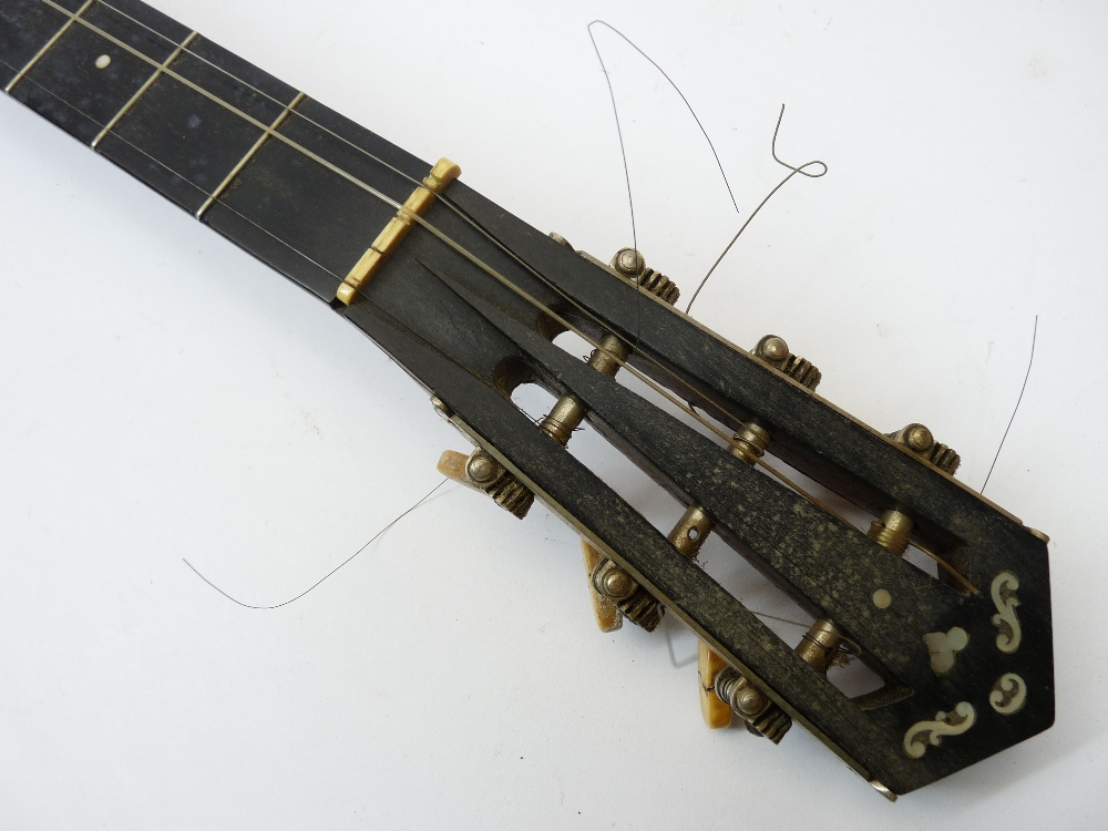 THE BARNES MULLINS PERFECT NO 1 BANJO IN A FITTED LEATHER CASE - Image 5 of 5